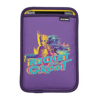 Guardians of the Galaxy | Rocket & Groot Neon Art iPad Mini Sleeve