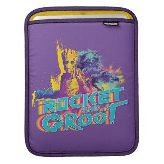 Guardians of the Galaxy | Rocket & Groot Neon Art iPad Sleeve