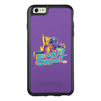Guardians of the Galaxy | Rocket & Groot Neon Art OtterBox iPhone 6/6s Plus Case