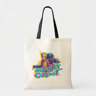 Guardians of the Galaxy | Rocket & Groot Neon Art Tote Bag