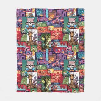 Guardians of the Galaxy | Rocket & Groot Pattern Fleece Blanket