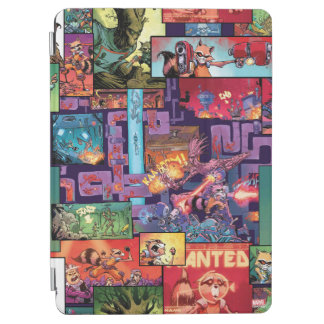 Guardians of the Galaxy | Rocket & Groot Pattern iPad Air Cover