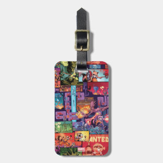 Guardians of the Galaxy | Rocket & Groot Pattern Luggage Tag