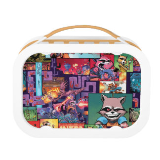 Guardians of the Galaxy | Rocket & Groot Pattern Lunch Box