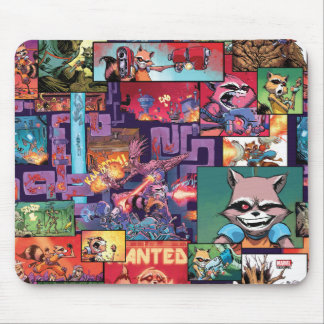 Guardians of the Galaxy | Rocket & Groot Pattern Mouse Pad