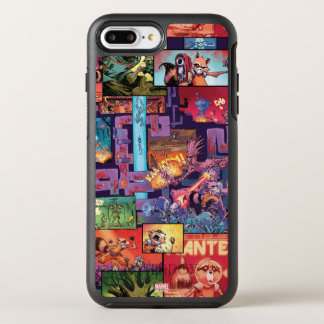 Guardians of the Galaxy | Rocket & Groot Pattern OtterBox Symmetry iPhone 7 Plus Case