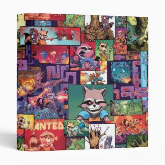 Guardians of the Galaxy | Rocket & Groot Pattern Vinyl Binder