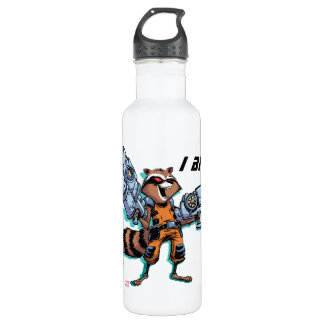 Guardians of the Galaxy | Rocket Mugshot 710 Ml Water Bottle