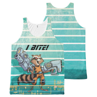Guardians of the Galaxy | Rocket Mugshot All-Over-Print Tank Top