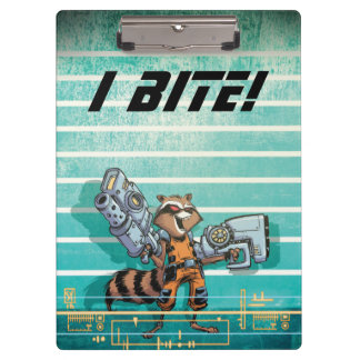 Guardians of the Galaxy | Rocket Mugshot Clipboards