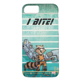 Guardians of the Galaxy | Rocket Mugshot iPhone 8/7 Case