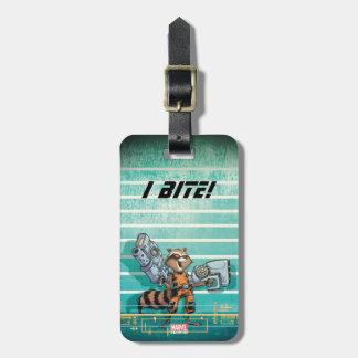 Guardians of the Galaxy | Rocket Mugshot Luggage Tag