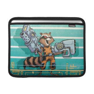 Guardians of the Galaxy | Rocket Mugshot MacBook Sleeves