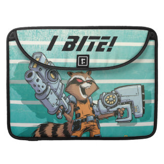 Guardians of the Galaxy | Rocket Mugshot Sleeve For MacBook Pro