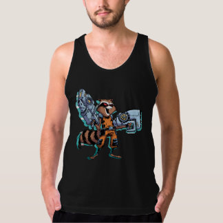 Guardians of the Galaxy | Rocket Mugshot Tank Top