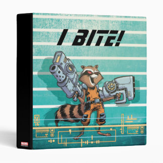 Guardians of the Galaxy | Rocket Mugshot Vinyl Binder