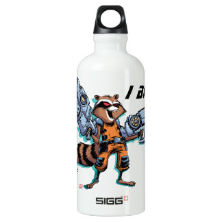 Guardians of the Galaxy | Rocket Mugshot Water Bottle