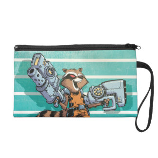 Guardians of the Galaxy | Rocket Mugshot Wristlet Purses
