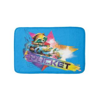 Guardians of the Galaxy | Rocket Neon Graphic Bath Mat