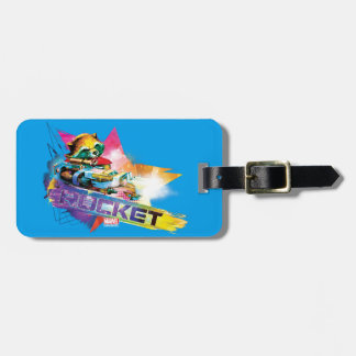 Guardians of the Galaxy | Rocket Neon Graphic Luggage Tag