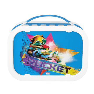 Guardians of the Galaxy | Rocket Neon Graphic Lunch Box