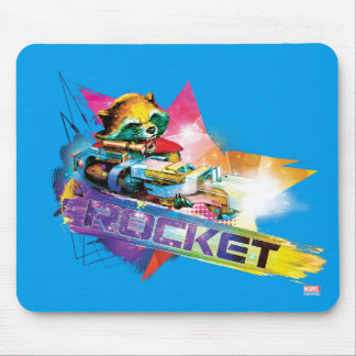 Guardians of the Galaxy | Rocket Neon Graphic Mouse Pad