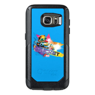 Guardians of the Galaxy | Rocket Neon Graphic OtterBox Samsung Galaxy S7 Case