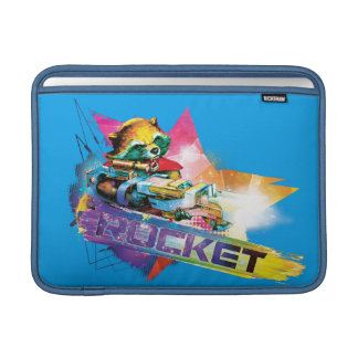 Guardians of the Galaxy   Rocket Neon Graphic Sleeve For MacBook Air