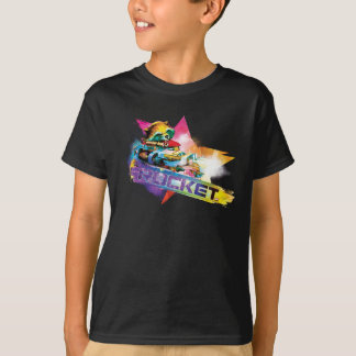 Guardians of the Galaxy   Rocket Neon Graphic T-Shirt