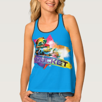 Guardians of the Galaxy | Rocket Neon Graphic Tank Top