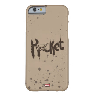 Guardians of the Galaxy | Rocket Painted Name Barely There iPhone 6 Case