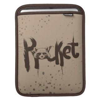 Guardians of the Galaxy | Rocket Painted Name iPad Sleeve