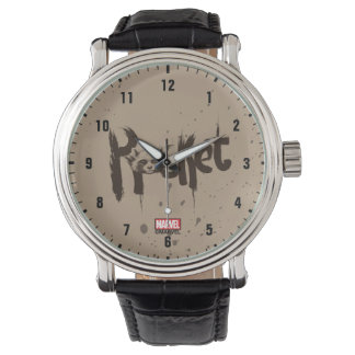 Guardians of the Galaxy | Rocket Painted Name Wrist Watches