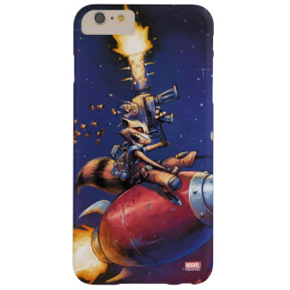 Guardians of the Galaxy | Rocket Riding Missile Barely There iPhone 6 Plus Case