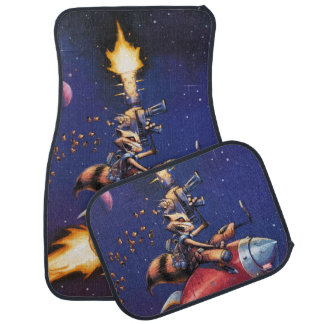 Guardians of the Galaxy   Rocket Riding Missile Car Mat