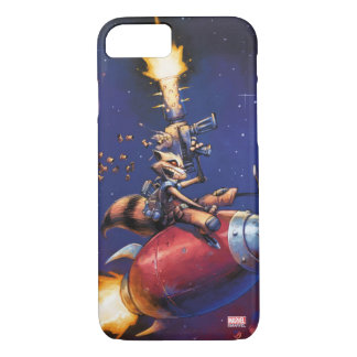 Guardians of the Galaxy | Rocket Riding Missile Case-Mate iPhone Case