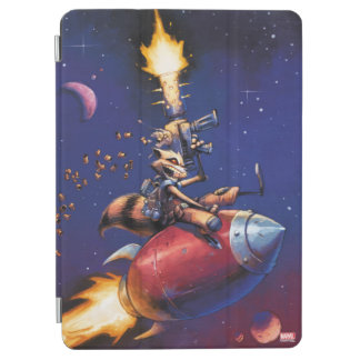 Guardians of the Galaxy | Rocket Riding Missile iPad Air Cover