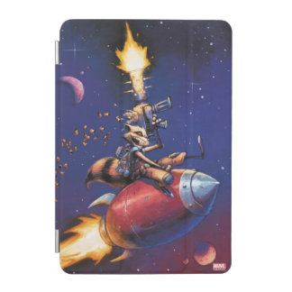 Guardians of the Galaxy | Rocket Riding Missile iPad Mini Cover