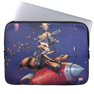 Guardians of the Galaxy | Rocket Riding Missile Laptop Sleeve