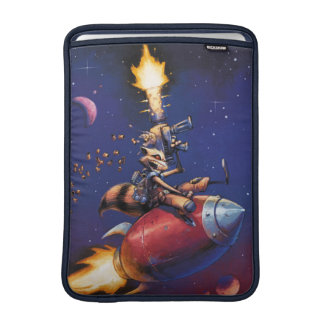 Guardians of the Galaxy | Rocket Riding Missile MacBook Sleeves