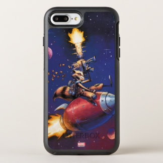 Guardians of the Galaxy | Rocket Riding Missile OtterBox Symmetry iPhone 8 Plus/7 Plus Case