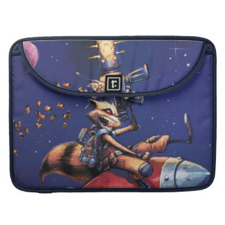 Guardians of the Galaxy | Rocket Riding Missile Sleeves For MacBook Pro