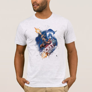 Guardians of the Galaxy   Rocket Riding Missile T-Shirt