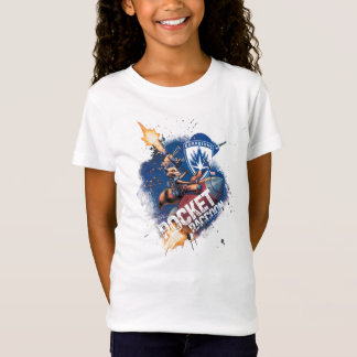 Guardians of the Galaxy | Rocket Riding Missile T-Shirt