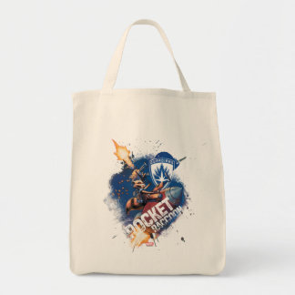 Guardians of the Galaxy | Rocket Riding Missile Tote Bag