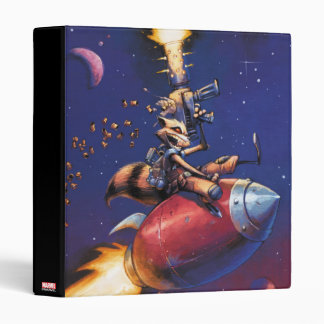 Guardians of the Galaxy | Rocket Riding Missile Vinyl Binder