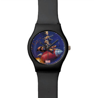 Guardians of the Galaxy | Rocket Riding Missile Wrist Watches
