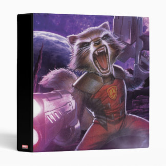 Guardians of the Galaxy | Rocket With Guns 3 Ring Binders