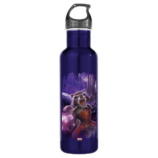 Guardians of the Galaxy | Rocket With Guns 710 Ml Water Bottle