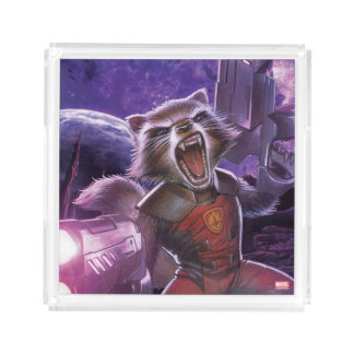 Guardians of the Galaxy | Rocket With Guns Acrylic Tray